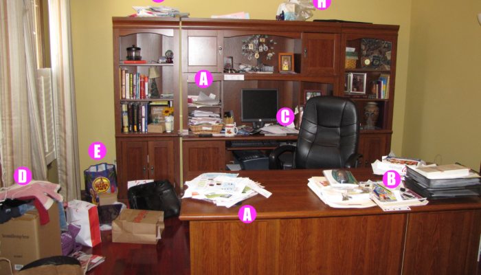 Organizing My House: The Home Office