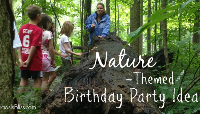 Nature-Themed Birthday Party Ideas