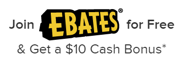 Join Ebates and earn cash back on your purchases.