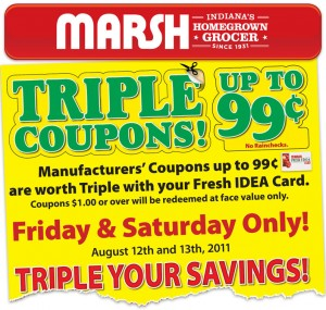 Marsh triple coupons