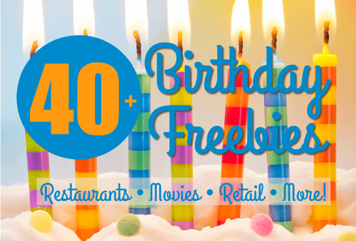 birthday freebies entertainment