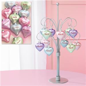 LV Valentine Ornaments