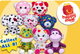 Build-a-Bear Joins McDonald's Happy Meal + Free Mini Shirt