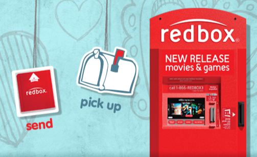 Share a FREE Redbox Rental Valentine via Facebook