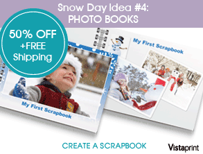Vistaprint: $4.99 for Photo Flip book + Ships Free!