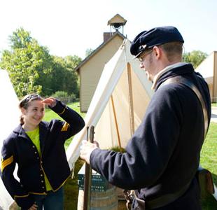 Conner Prairie 1863 Civil War Journey
