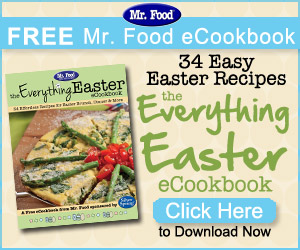 FREE The Everything Easter eCookbook from Mr. Food