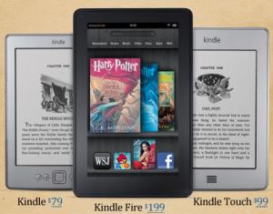 Harry Potter on Kindle
