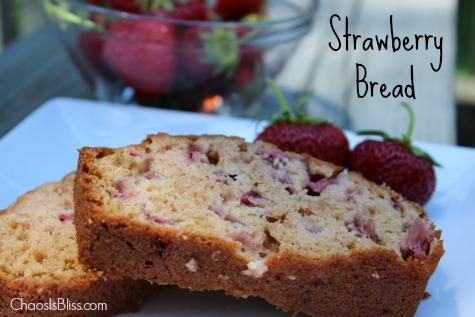 Strawberry Bread Recipe