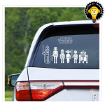 Star Wars window decals