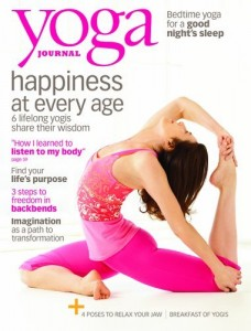 Yoga Journal discount subscription