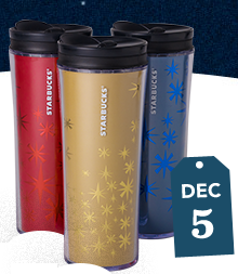 Starbucks 12 Days of Deals