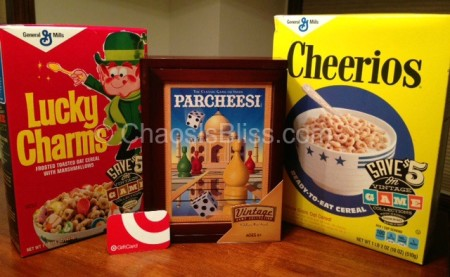 Giveaway: Retro General Mills Cereal, Hasbro Game & Target Gift Card