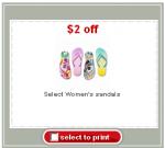 Target sandals coupon