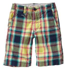 Gap Madras Shorts