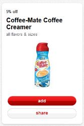 Target Cartwheel Coffeemate