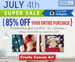 Canvas People July 4th Offer