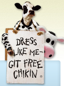 Chic-fil-a Cow Appreciation Day