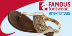 Famous Footwear coupon June 2013