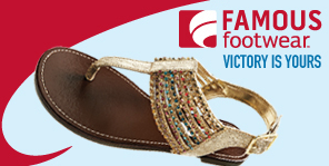 Famous Footwear coupon June 2013