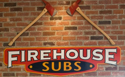 Firehouse Subs with Axes