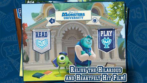 Monsters University App