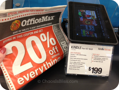 Office Max tablet coupon
