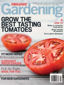 Organic Gardening Magazine discount subscription
