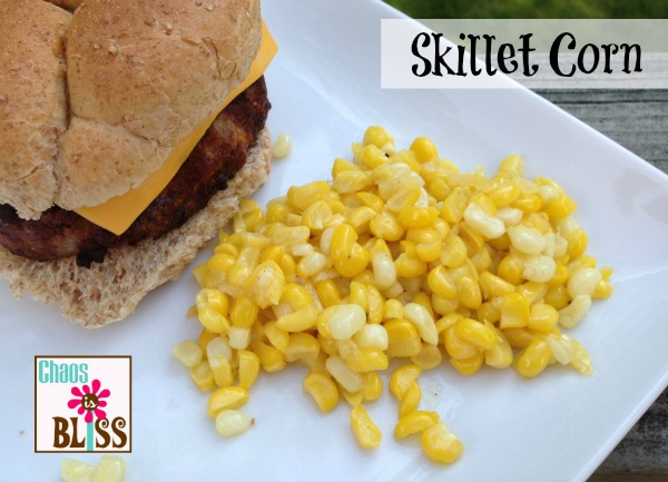 Skillet Corn Recipe | ChaosIsBliss.com