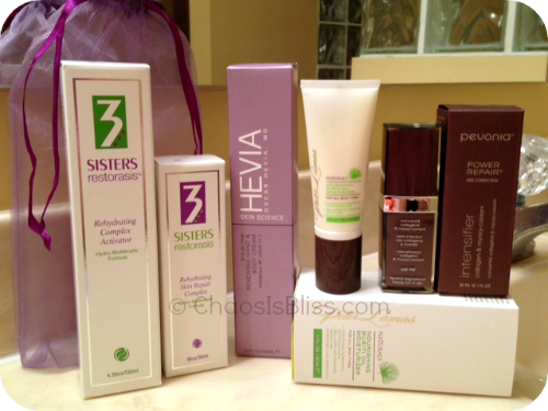 Product Review: Skincare by 3 Sisters, Hevia, Pevonia and Peter Lamas