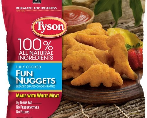 New Tyson Fun Nuggets and Any'Tizers Printable Coupons