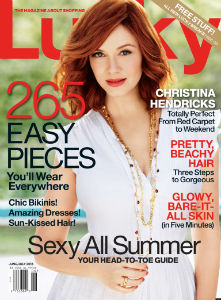 Lucky Magazine discount subscription