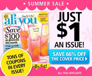 All You Magazine 6 issues for $6
