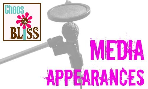 Chaos Is Bliss Media Appearances