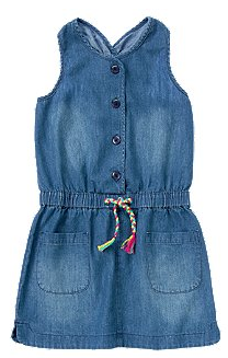 Crazy 8 Chambray Dress