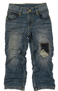 Gymboree Patched Knee Jean