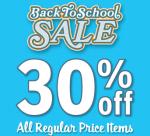 Gymboree back to school sale