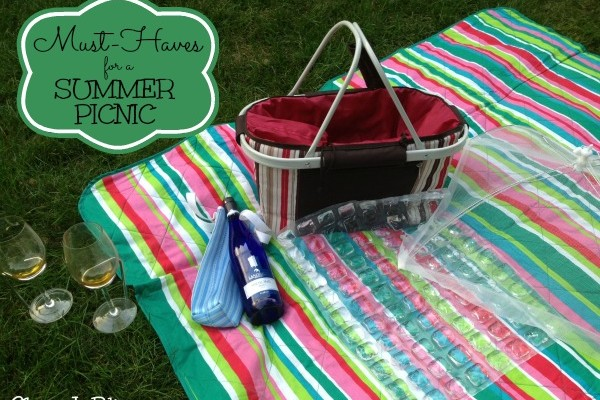 10 Must-Haves for a Summer Picnic + Easy As Blueberry Pie Recipe