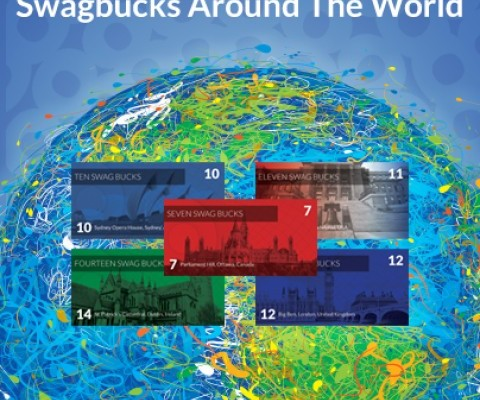 Earn an Extra 20 Swagbucks with Around The World