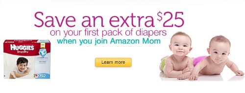 Amazon Mom diaper coupon