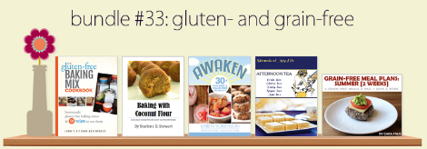 Ebook Bundle: 5 Grain- and Gluten-Free Ebooks for $7.40