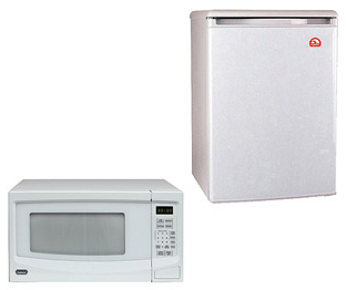 Igloo Dorm Refrigerator Bundle