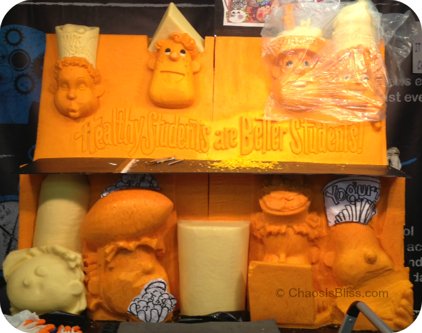 Indiana State Fair 2013 Cheese Sculpture