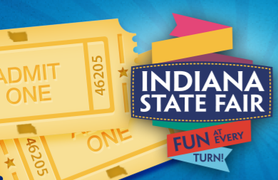 Indiana state fair ticket giveaway 2013 highlights chaos is bliss 2013