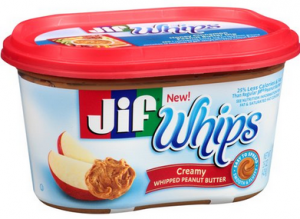 Jif Whips Peanut Butter coupon