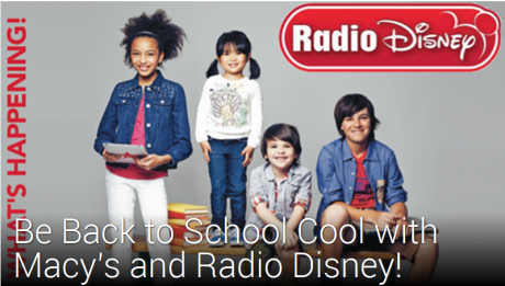 Radio Disney and Macy's | Back to School is Cool