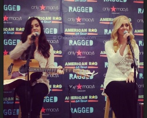 Macy's Brings in Megan & Liz for In-Store Acoustic Performance