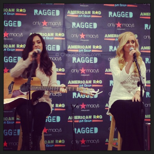 Megan & Liz Macy's Performance