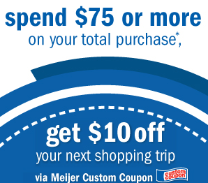 Meijer custom coupons