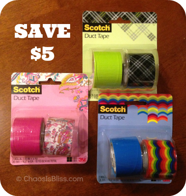 Scotch Expressions Tape coupon